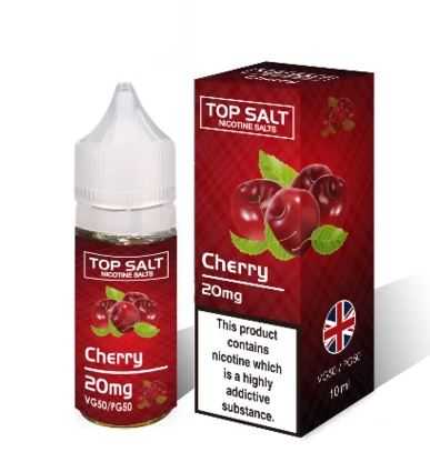 Cherry Top Salt eLiquid 10ml – £1.00