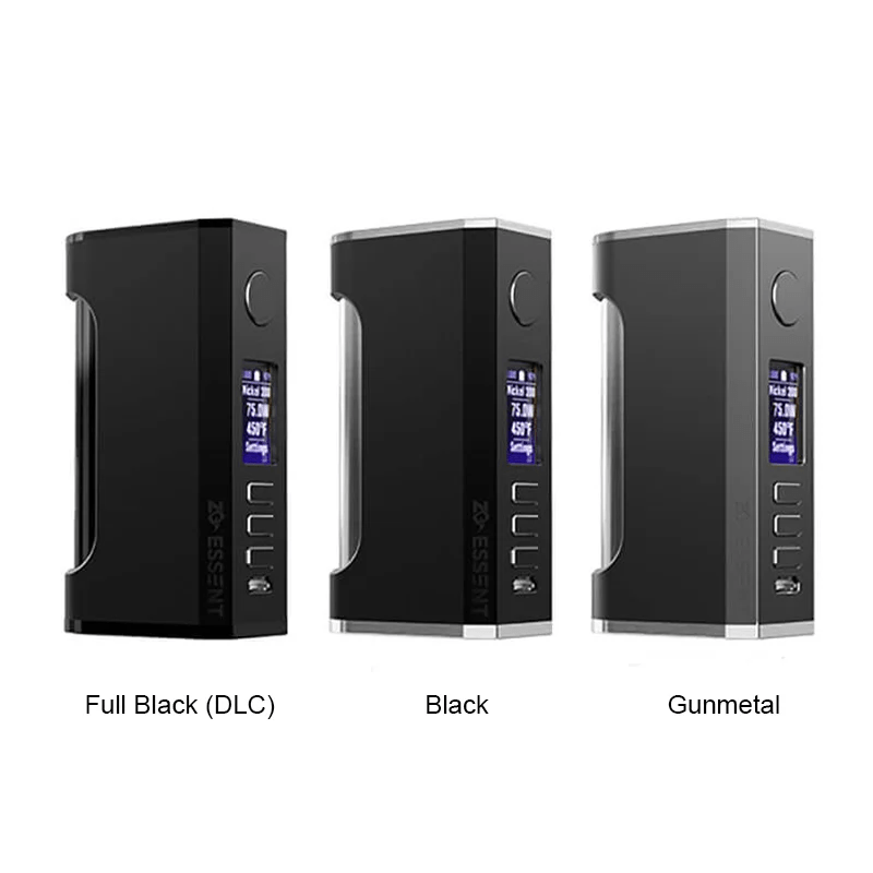 ZQ Essent DNA75C TC Box Mod 75W – £92.86