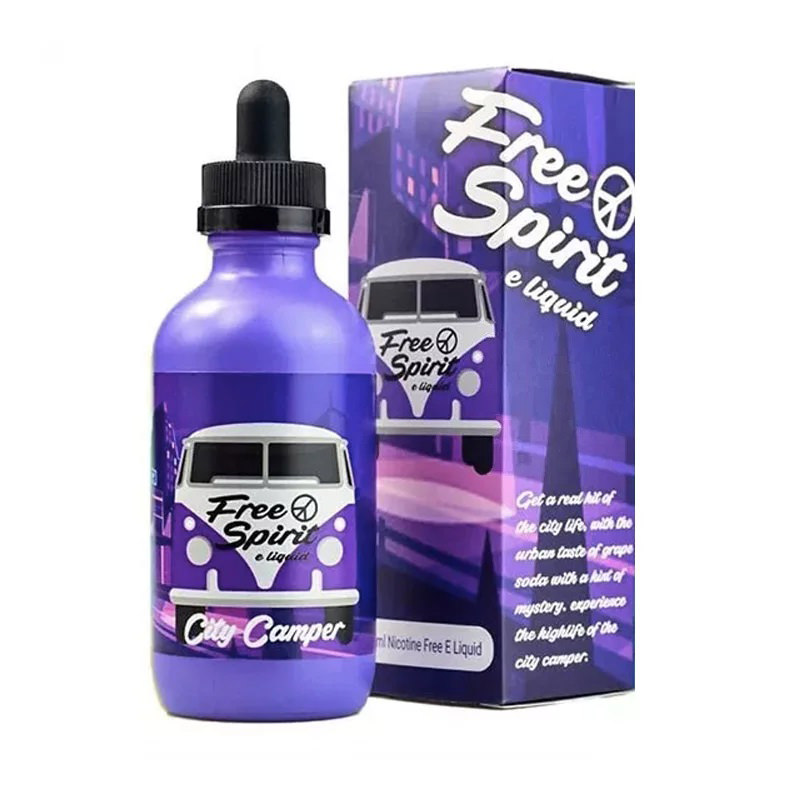 Free Spirit City Camper Eliquid 100ml – £9.49