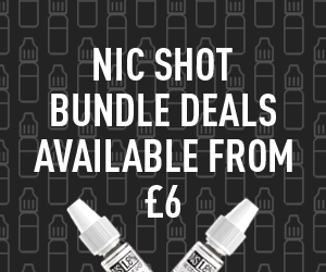 Nic Shot Bundle 10ml x10 –  £6.00
