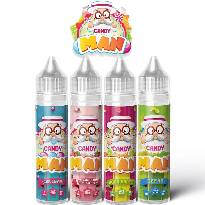Candy Man Eliquid 50ml Shortfill – £4.99