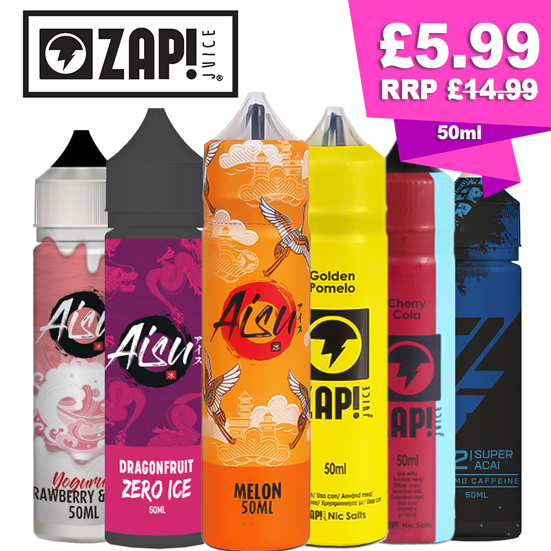 ZAP Juice & Aisu 50ml E-Liquid – £5.99