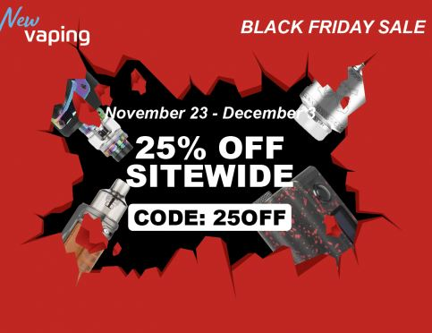25% Off Black Friday 2020