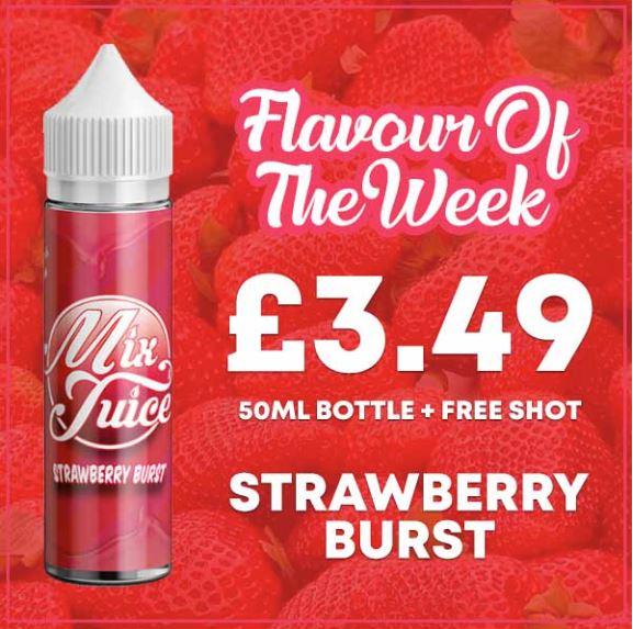 Strawberry Burst 50ml