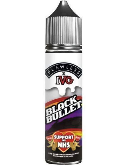 IVG Black Bullet 50ml Shortfill – £0.99