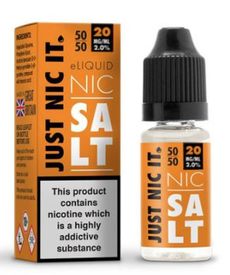 Just Nic It 10ml E-Liquid Salt – £0.94