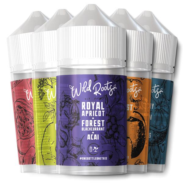 Wild Roots 50ml E-Liquid – £9.99