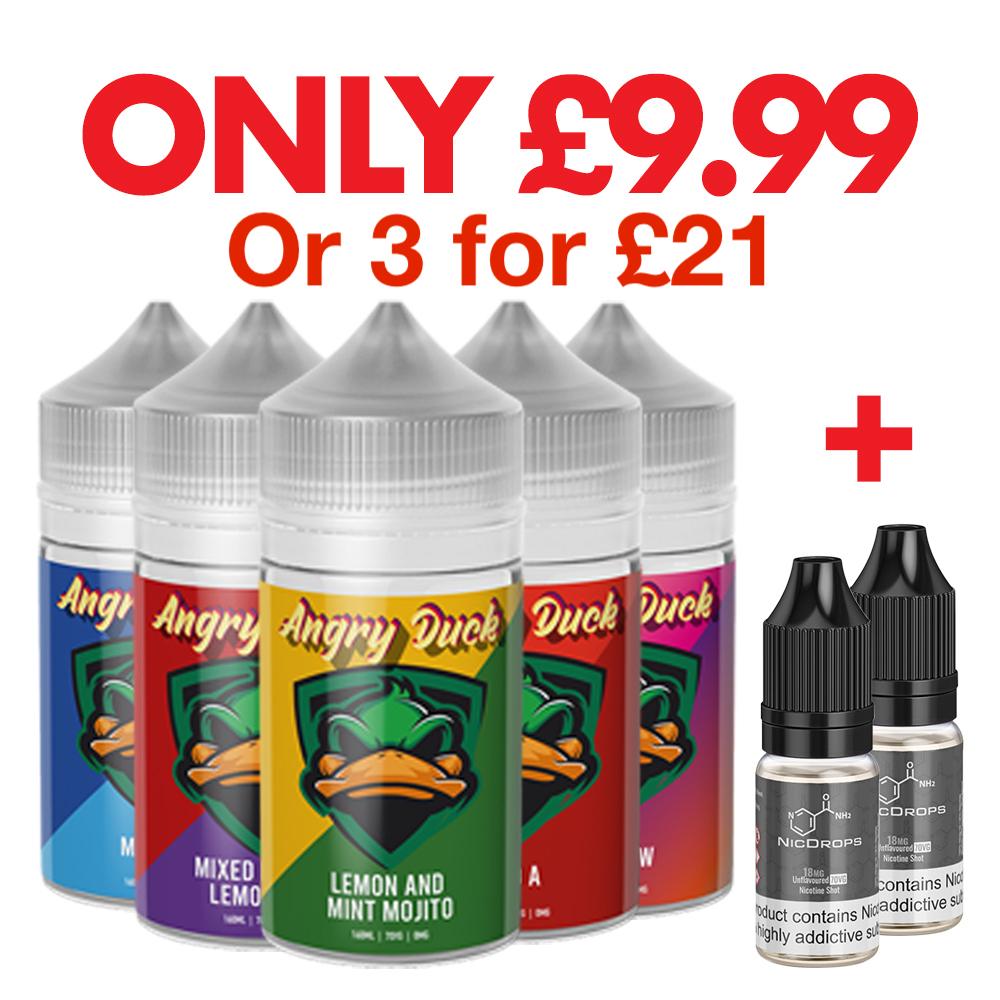 Angry Duck 600ml Bundle – £21.00