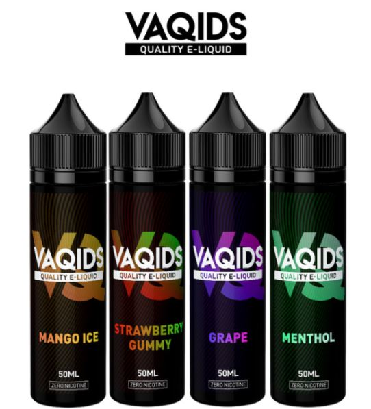 VaQids E-Liquid Shortfills 50ml – £2.99
