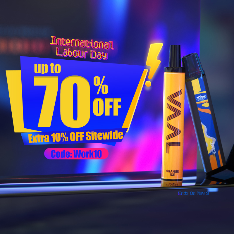 10% off for International Labour Day