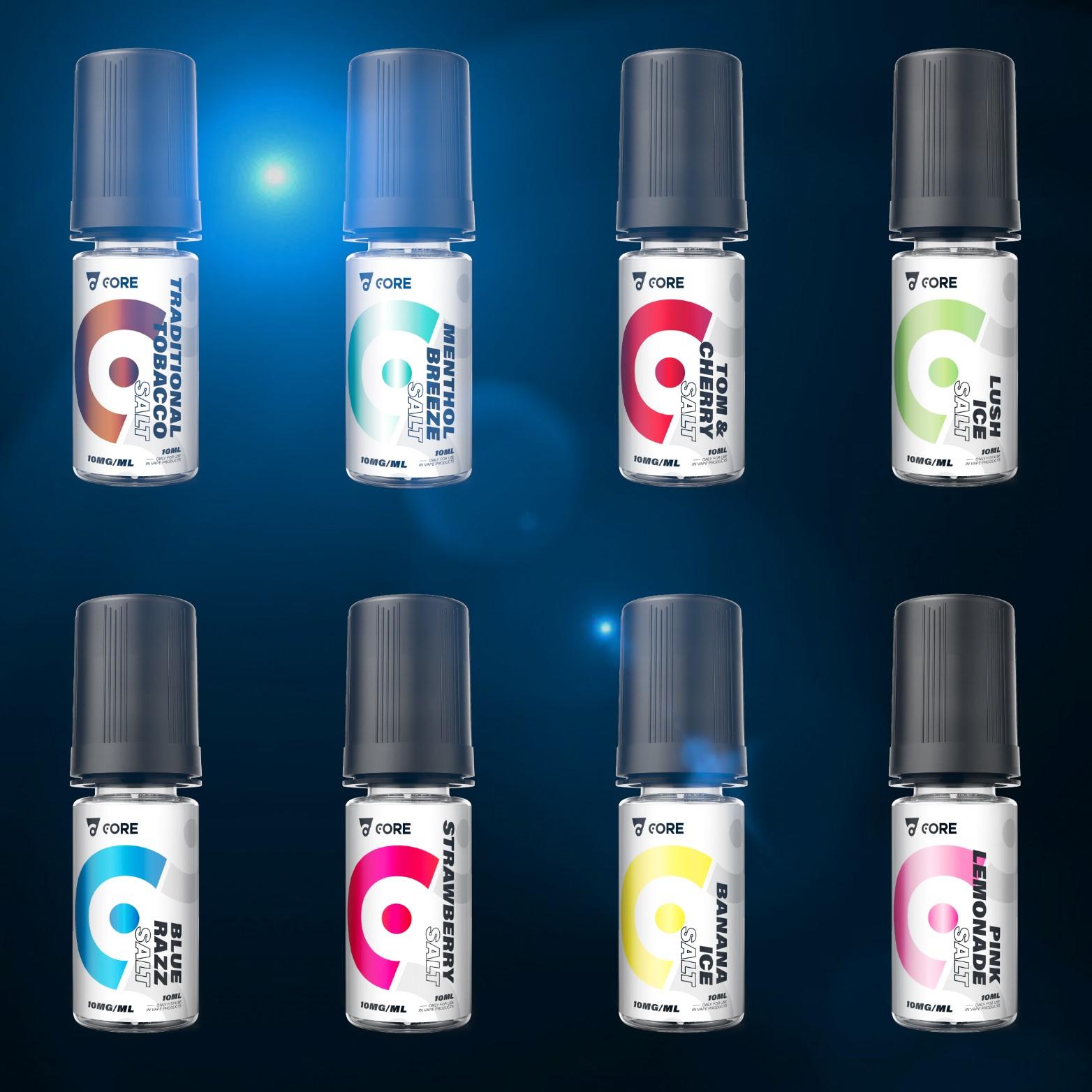 Core Salt E-Liquid 4x 10ml – £10.00