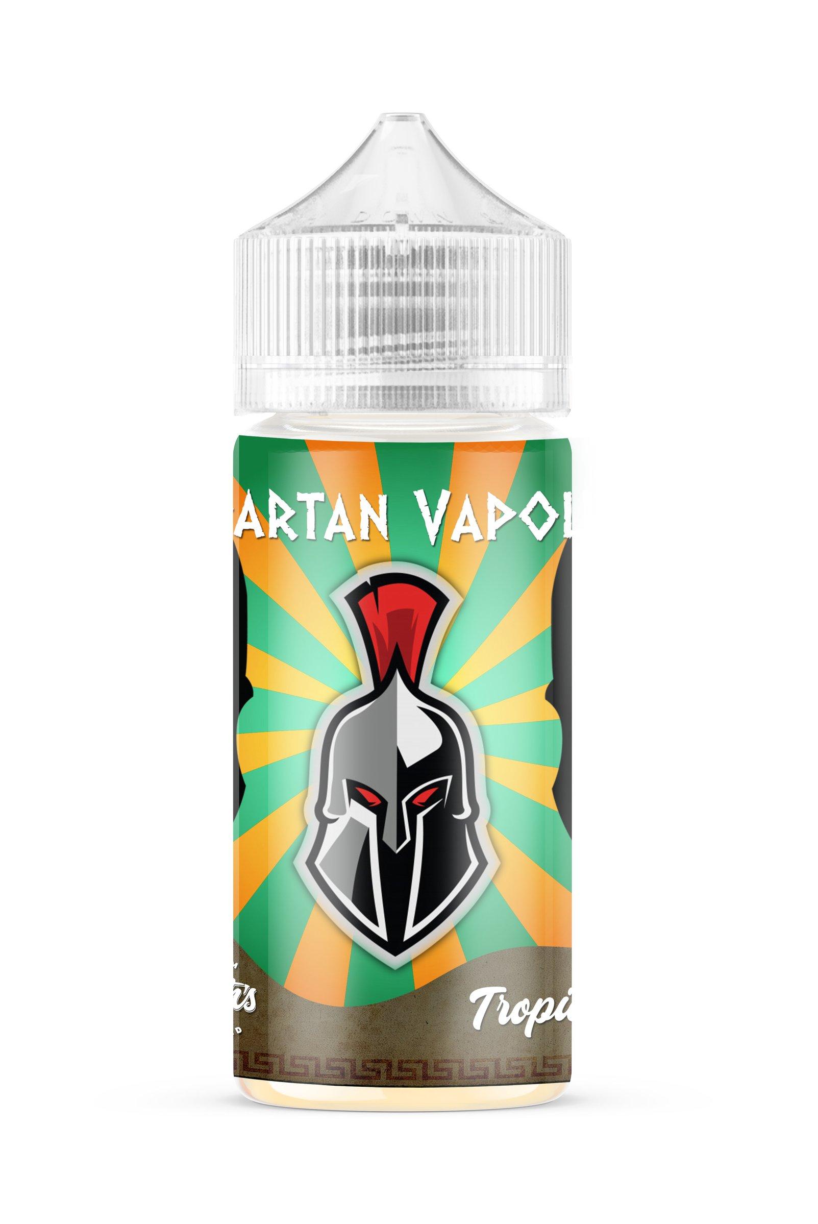 Spartan Vapour Tropical 100ml E-Liquid – £7.99