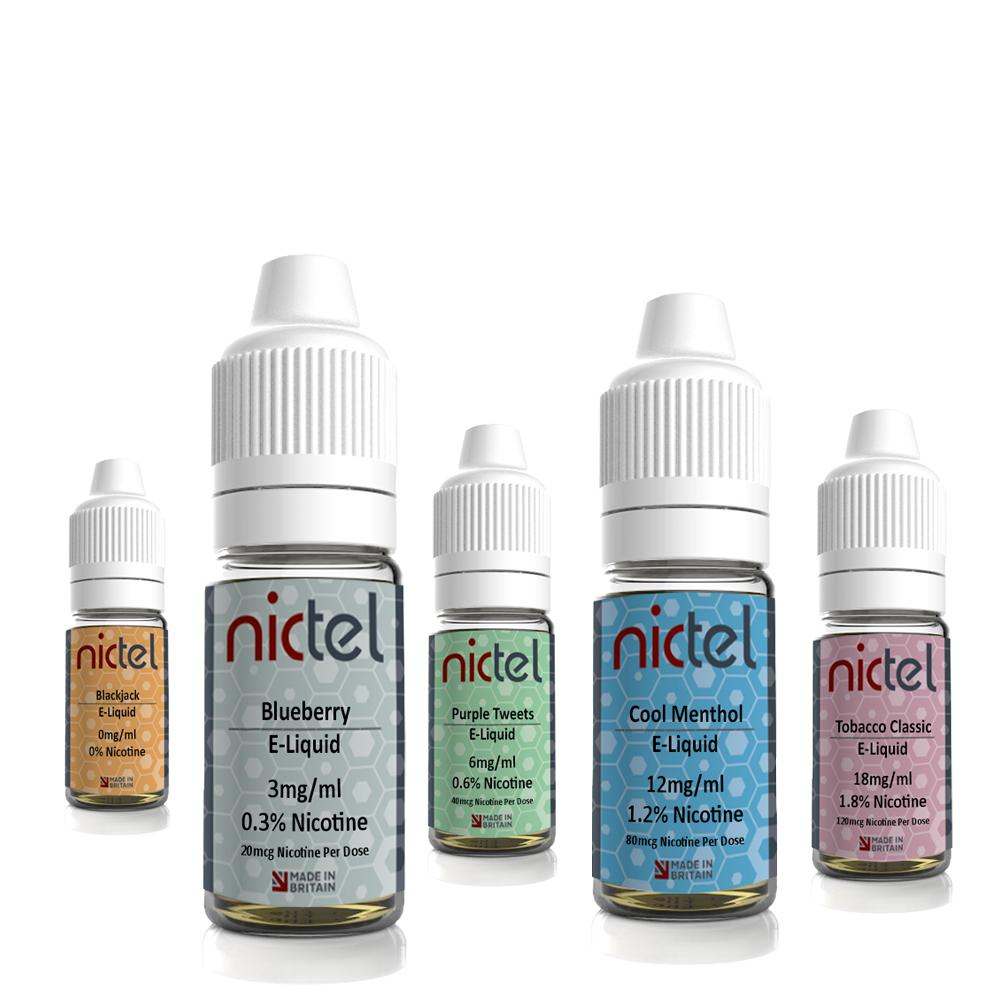 Nictel 10ml E-Liquid – £0.49