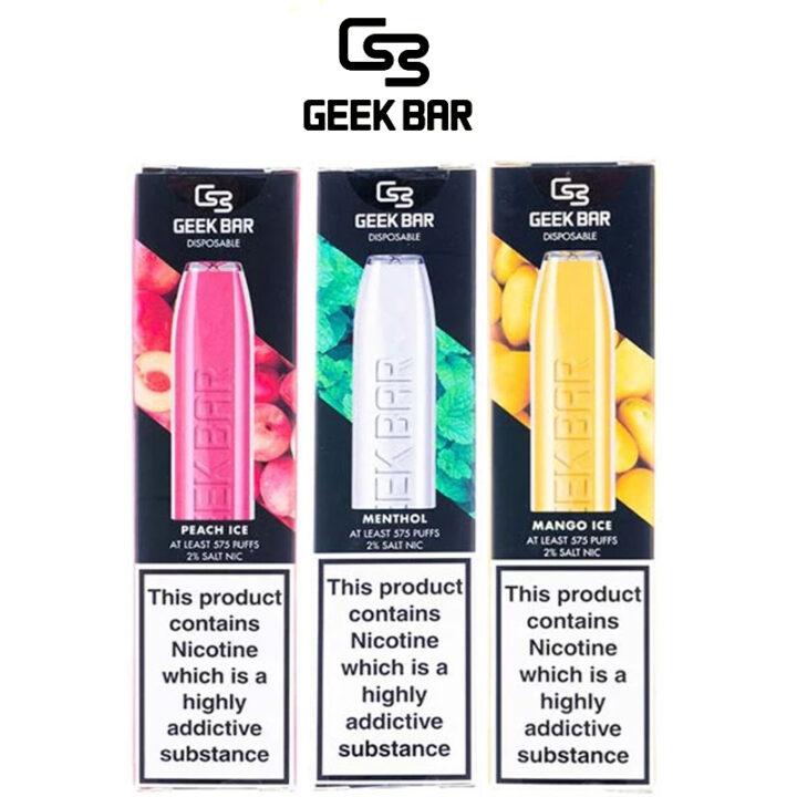 Geek Bar Disposable Pods – £4.99