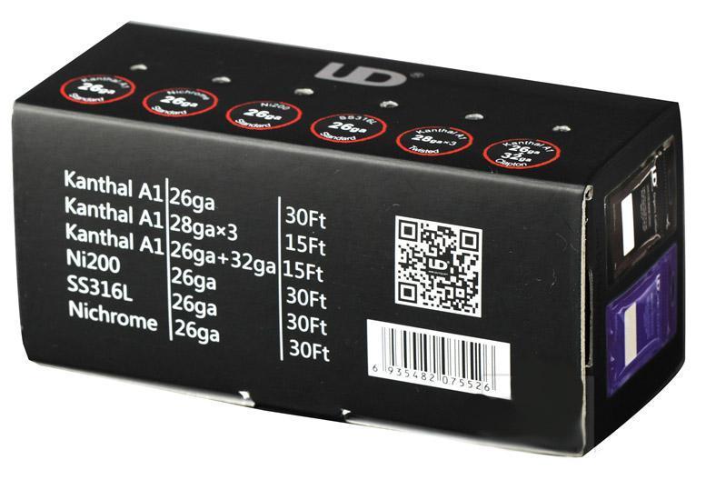 Κουτί με διάφορα σύρματα για ηλεκτρονικό τσιγάρο