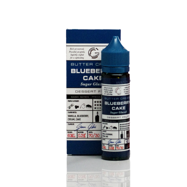 Glas Basix E-Liquid Blueberry Cake 60ml on Vape Drive