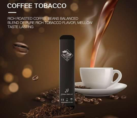 Tugboat 2 -coffee tobacco new disposable vape