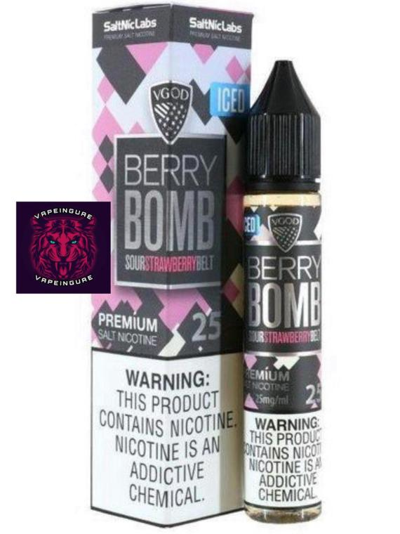 VGOD Iced Berry Bomb SaltNic - 30ml