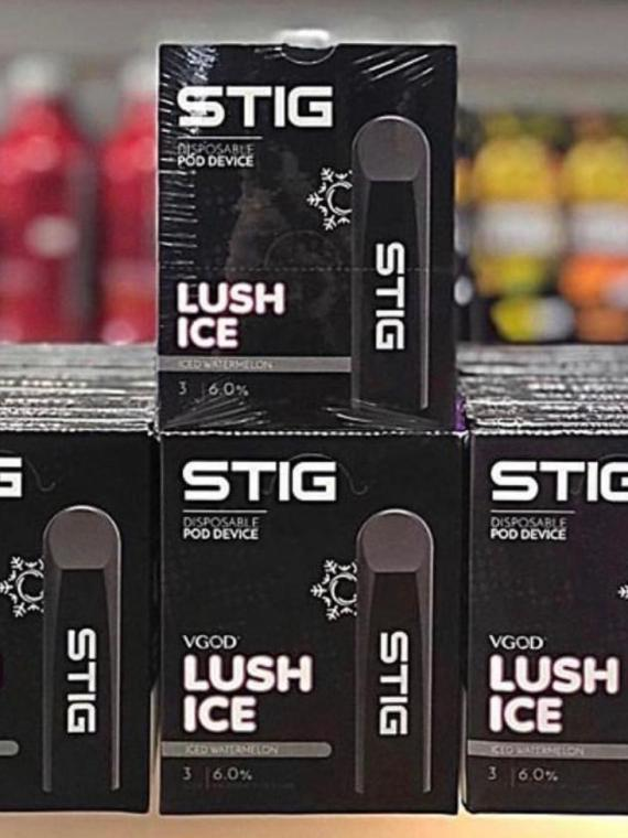 lush ice - Stig Pods - Ultra Portable and Disposable Vape Device
