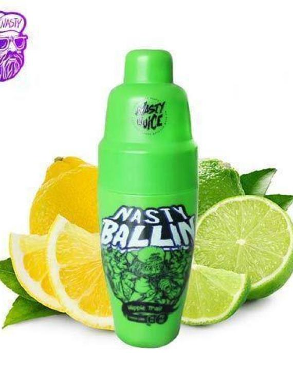 Nasty Ballin – Hippie Trail – Lemon Lime – 60ml – 0mg – QuickNic Ready