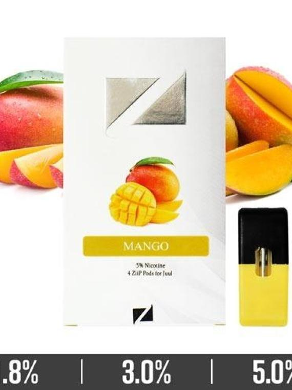 Mango Ziip Pods for Juul Devices