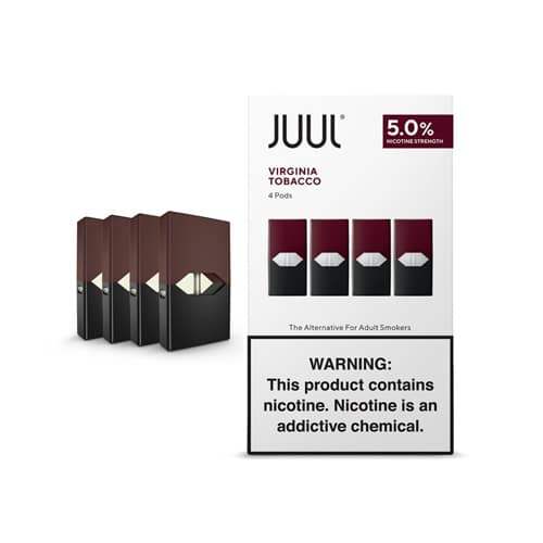 JUUL POD-VIRGINIA TOBACCO