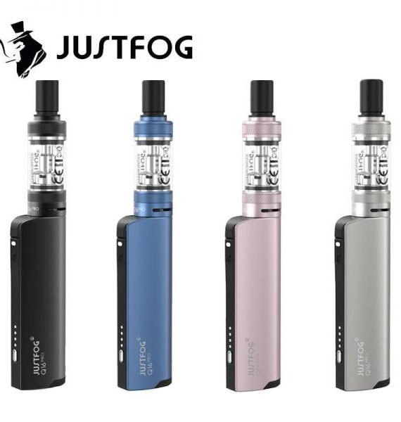 Justfog Q16 Pro Vape Kit (OCC Bottom Coil & 4-level Voltage)