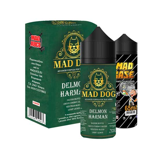 Mad Juice Mad Dog Delmon Harman - Mad Juise - Delmon Harman
