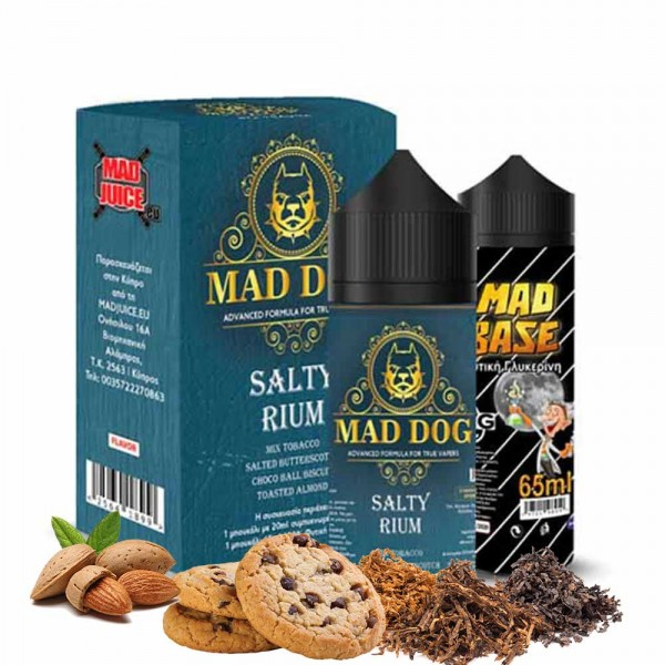 mad juice salty rium 20ml 100ml  - Mad Dog - Salty Rium