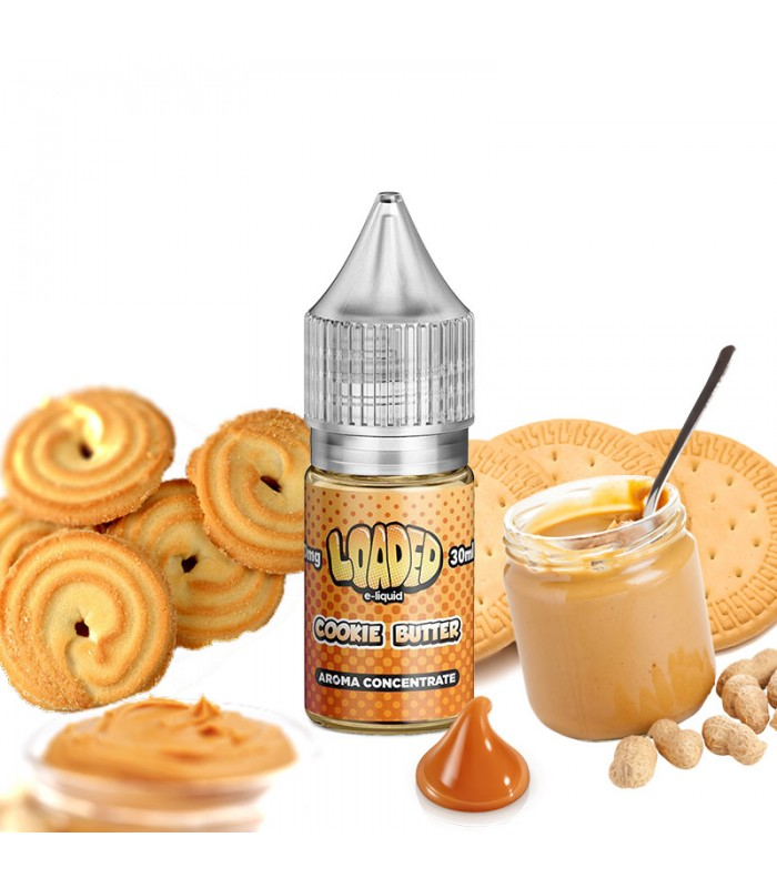 cookie butter loaded concentrate - Cookie Butter Loaded concentrate 30ml