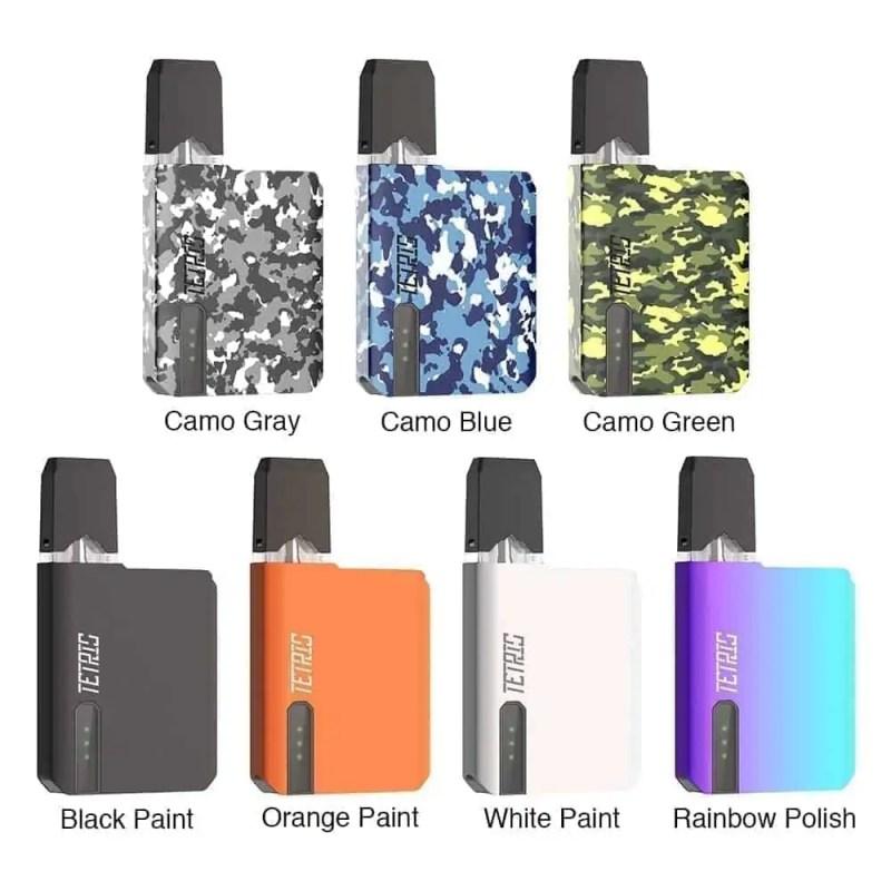 Pomp Tetris colors