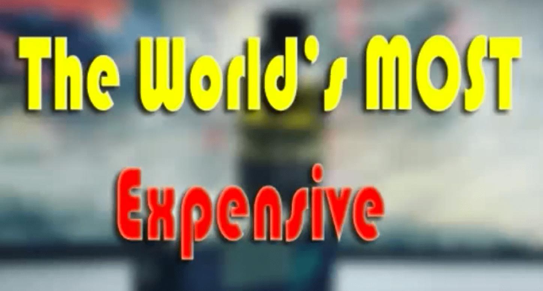 The Worlds Most Expensive Vape Mod  Best Vape Liquids Reviews
