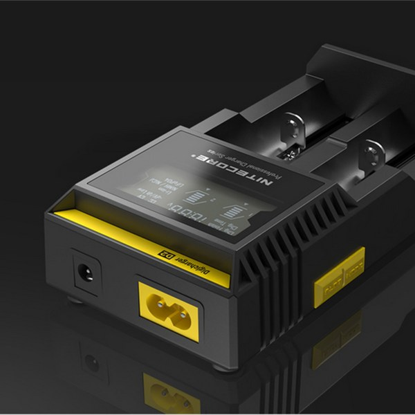100-Original-Nitecore-D2-Digcharger-Battery-Charger-LCD-Display-Nitecore-