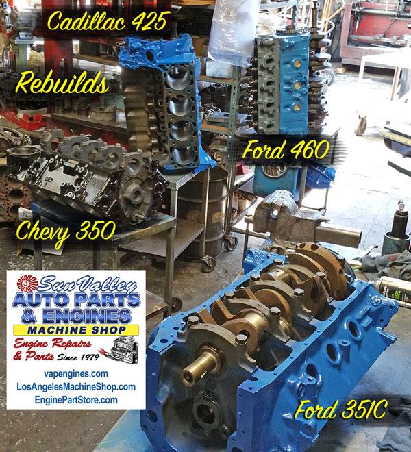 Car Engine Rebuilding Machine Shop