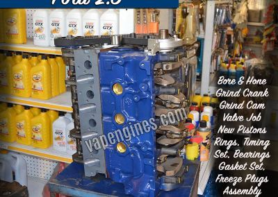 Ford 2.3 Engine Rebuild Machine Shop