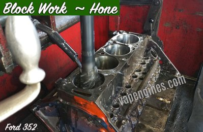 Engine Block Work-Honing