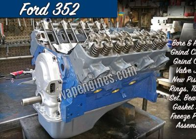 Ford 352 Engine Rebuild Machine Shop