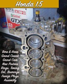 Honda 1.5 Engine Rebuild Machine Shop