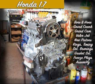 Honda 1.7 Engine Rebuild Machine Shop
