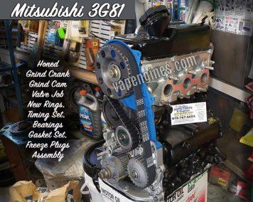 Mitsubishi 3G81 Engine Rebuild Machine Shop