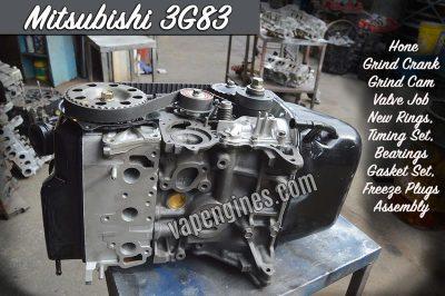 Mitsubishi 3G83 Engine Rebuild Machine Shop