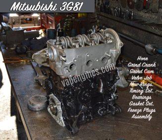 Mitsubishi Minicab 3G81 Remanufactured engine