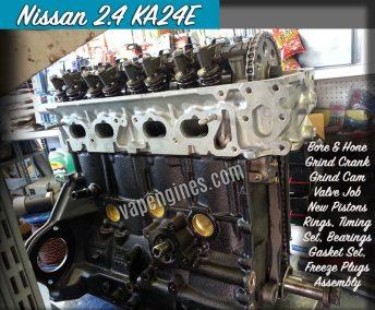 Nissan 2.4 KA24E Engine Rebuild Machine Shop