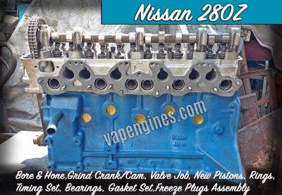 Nissan 280Z Engine Rebuild Machine Shop