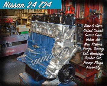 Nissan Z24 2.4 Engine Rebuild Machine Shop