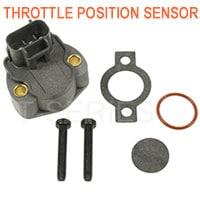 Throttle position sensor for fuel delivery