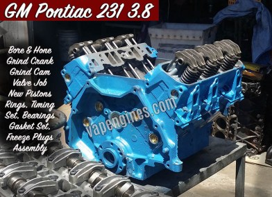 GM Pontiac 231 3.8 Engine Rebuilding