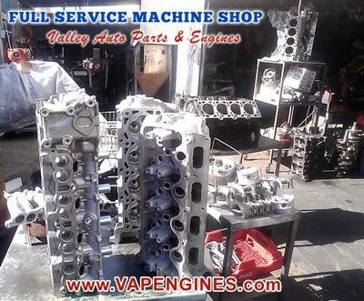 Aluminum and Cast Iron Valve job machine shop