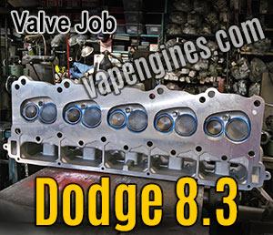 Dodge 8.3 V10 Valve Job