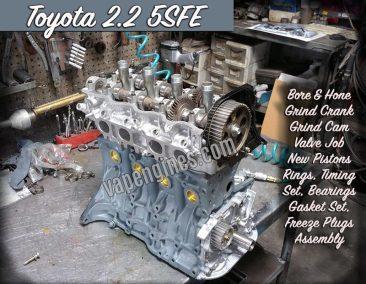 Toyota 2.2 5SFE Engine Rebuild shop